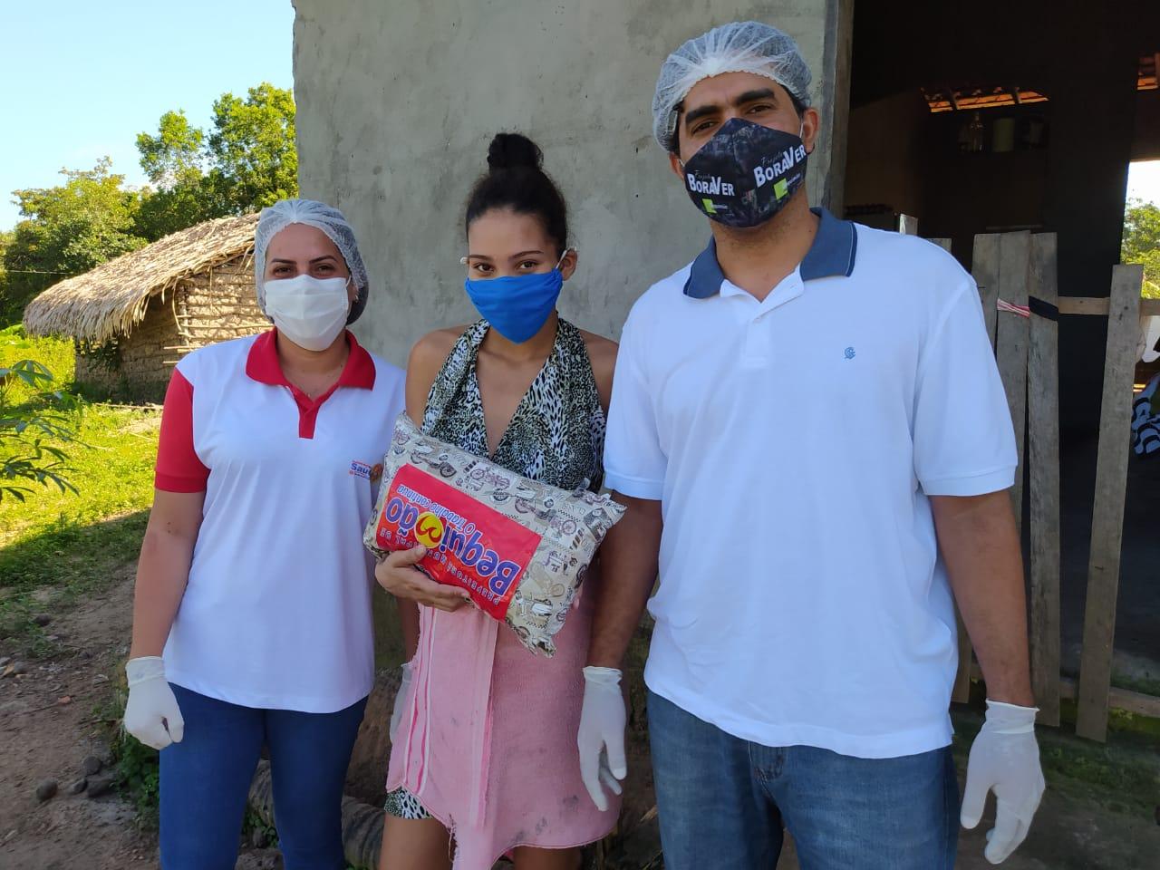 Photo of Prefeitura de Bequimão entrega kits de recém nascidos para gestantes quilombolas