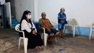 Photo of Vereadora Fátima Araújo participa de reunião com diretoria de Dança Portuguesa do João de Deus