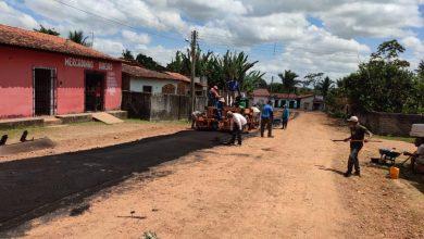 Photo of Prefeitura de Bequimão retoma serviço de pavimentação asfáltica no município