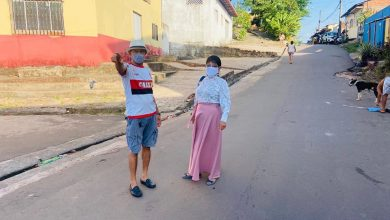 Photo of Fátima Araújo visita bairro São Cristóvão acompanhada de lideranças