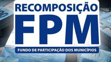 Photo of Recomposição do FPM será creditada nesta sexta-Feira (21)