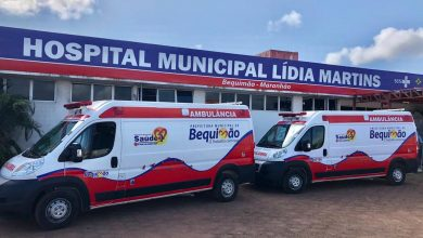 Photo of Hospital de Bequimão Lídia Martins recebe mais duas ambulâncias