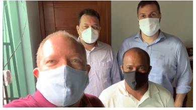 Photo of Secretários estaduais declaram apoio à pré-candidatura de Heliezer em Peri-Mirim