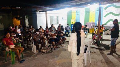 Photo of Fátima Araújo reúne com moradores do conjunto São Raimundo