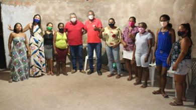Photo of Honorado Fernandes participa de reunião no bairro Cohafuma