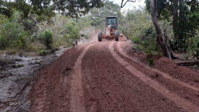 Photo of Bequimão-MA: Prefeitura melhora estrada que dá acesso ao cemitério de Santa Rita