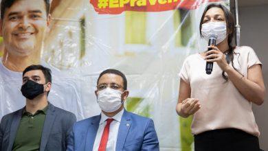 """Photo of Eliziane Gama: """"Tenho muita convicção da eleição de Rubens Jr"""""""