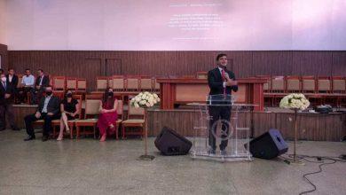 Photo of Rubens Jr apresenta propostas em evento para evangélicos