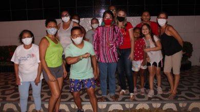 Photo of Vereadora Fátima Araújo reúne com moradores do Residencial Canaã