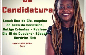 Foto de Lika Guterres lança candidatura dia 10 de outubro