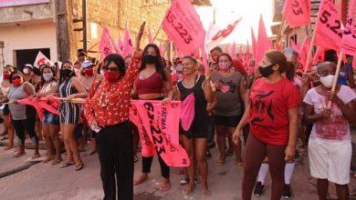 Photo of Fátima Araújo (65.223) faz caminhada no Residencial João Alberto