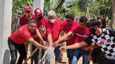Foto de BEQUIMÃO-MA: Prefeito Zé Martins inaugura poço artesiano na zona rural