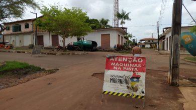 Foto de Mais ruas do Centro de Bequimão vão receber asfaltamento