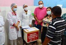 Foto de Município de Bequimão recebe primeiras doses de vacina contra Covid-19