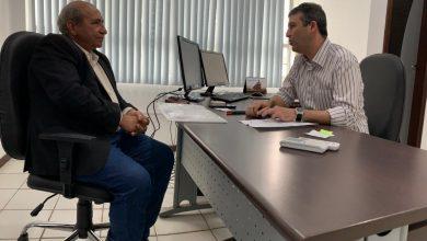 Foto de Francisco Chaguinhas reúne com secretário David Col Debella