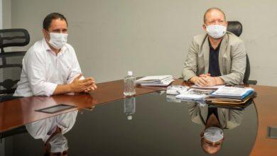 Foto de Othelino recebe a visita do ex-prefeito de São Luís Edivaldo Holanda Junior