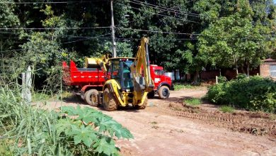 Foto de Prefeitura de Ribamar-MA inicia trabalho de urbanização no bairro Dr. Julinho