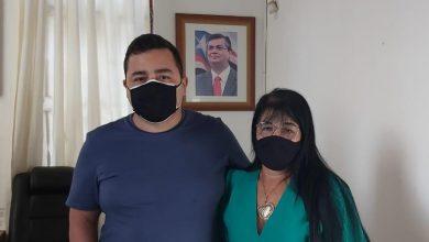 Foto de Fátima Araújo reúne com Secretário de Juventude do Maranhão